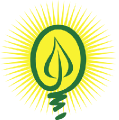 Ecogen Energy lightbulb logo
