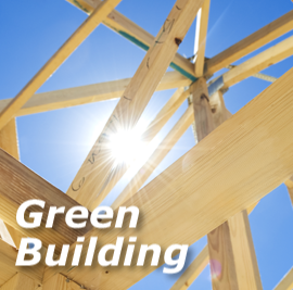 green-building-text